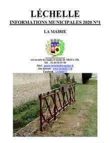 Journal Léchelle info 1 2020